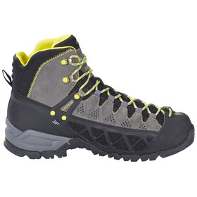 Salewa M's Alp Flow Mid GTX Shoes Smoke/Yellow